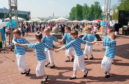 Фестиваль корюшки в Питере