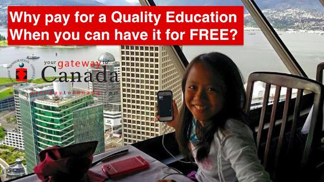 Why pay for a quality education when you can have it for free?