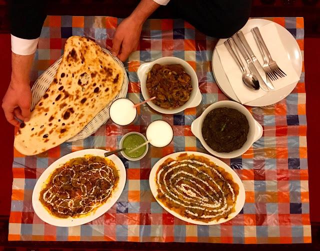 Afghan food in Nottingham