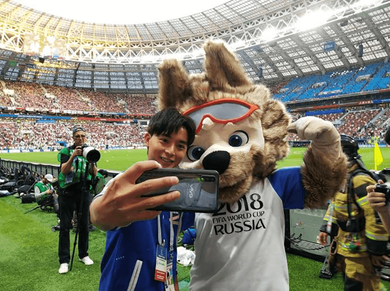 Vivo is the official smartphone partner of the FIFA World Cup