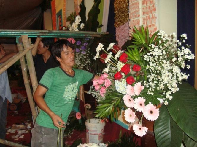 Kampung Seni Yudha Asri Seni Merangkai Bunga Dekorasi Pelaminan