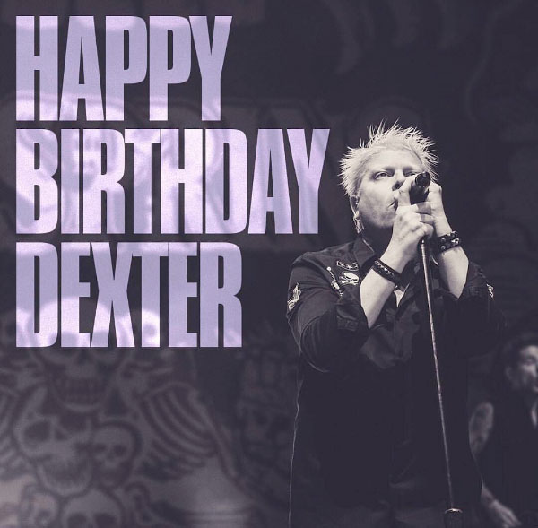 Dexter Holland turns 52 years old