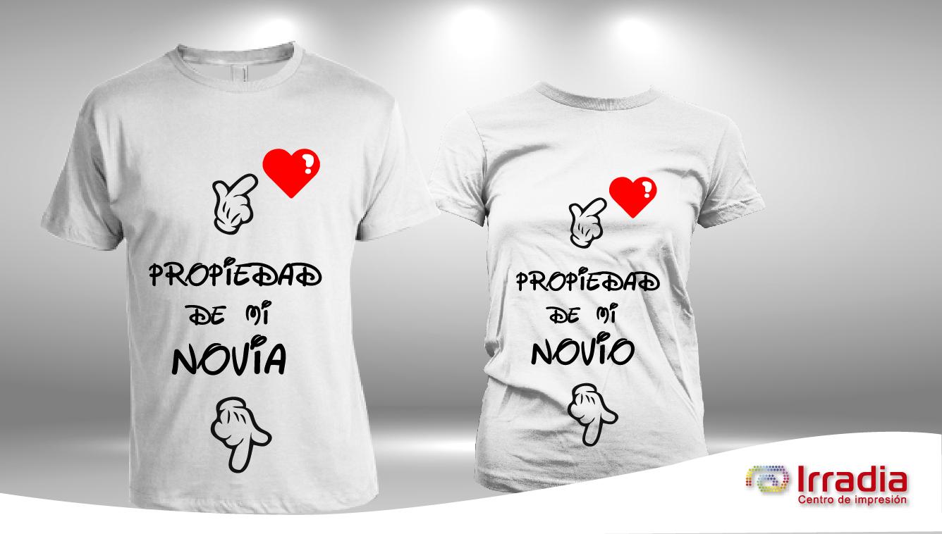 Propiedad De Mi Novia Loco T Shirt