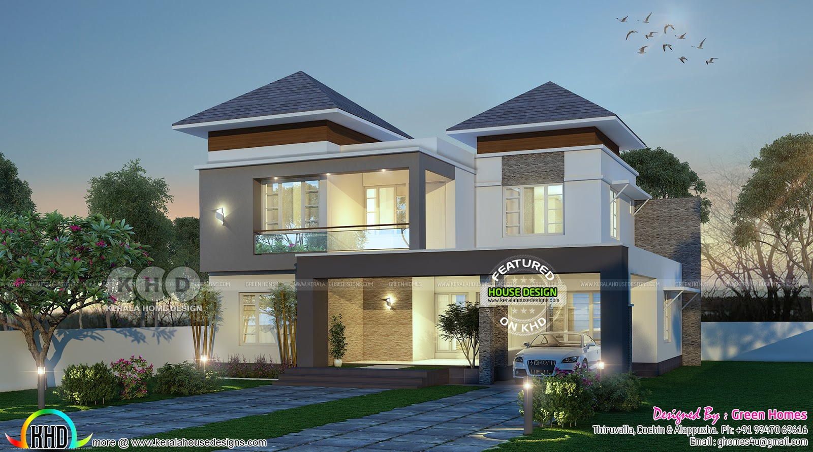 latest house designs 1750 square feet 4 bedroom double floor new modern home 2550 square feet modern 4 bedroom home plan