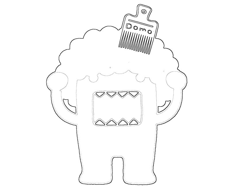 Anater Domo Colouring Pages - Domo Clip Art - Free Transparent PNG ... | 667x800