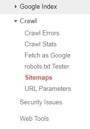 add sitemap to google webmaster