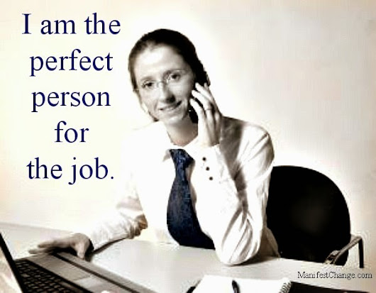 Subliminal Affirmation for Job Search Motivation: Perfect Person