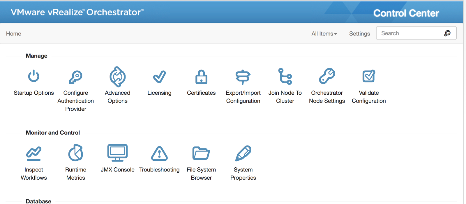 Just Another IT blog: Enable vRealize Orchestrator Control