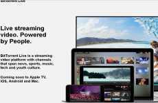 BitTorrent Live: plataforma de televisión en vivo y en directo online por streaming