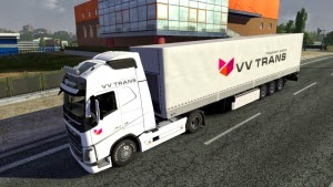 VV Trans skin + trailer