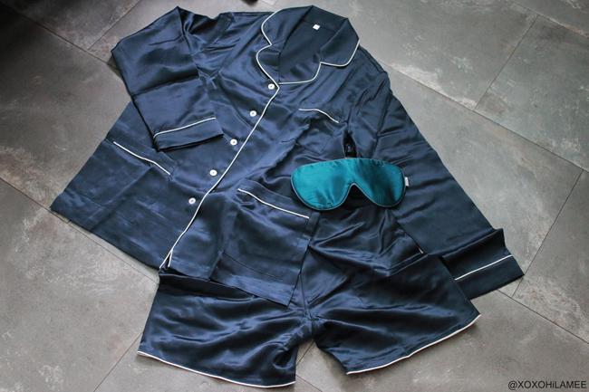 日本人ファッションブロガー,NEW IN-100% シルクパジャマ,from OOSILK