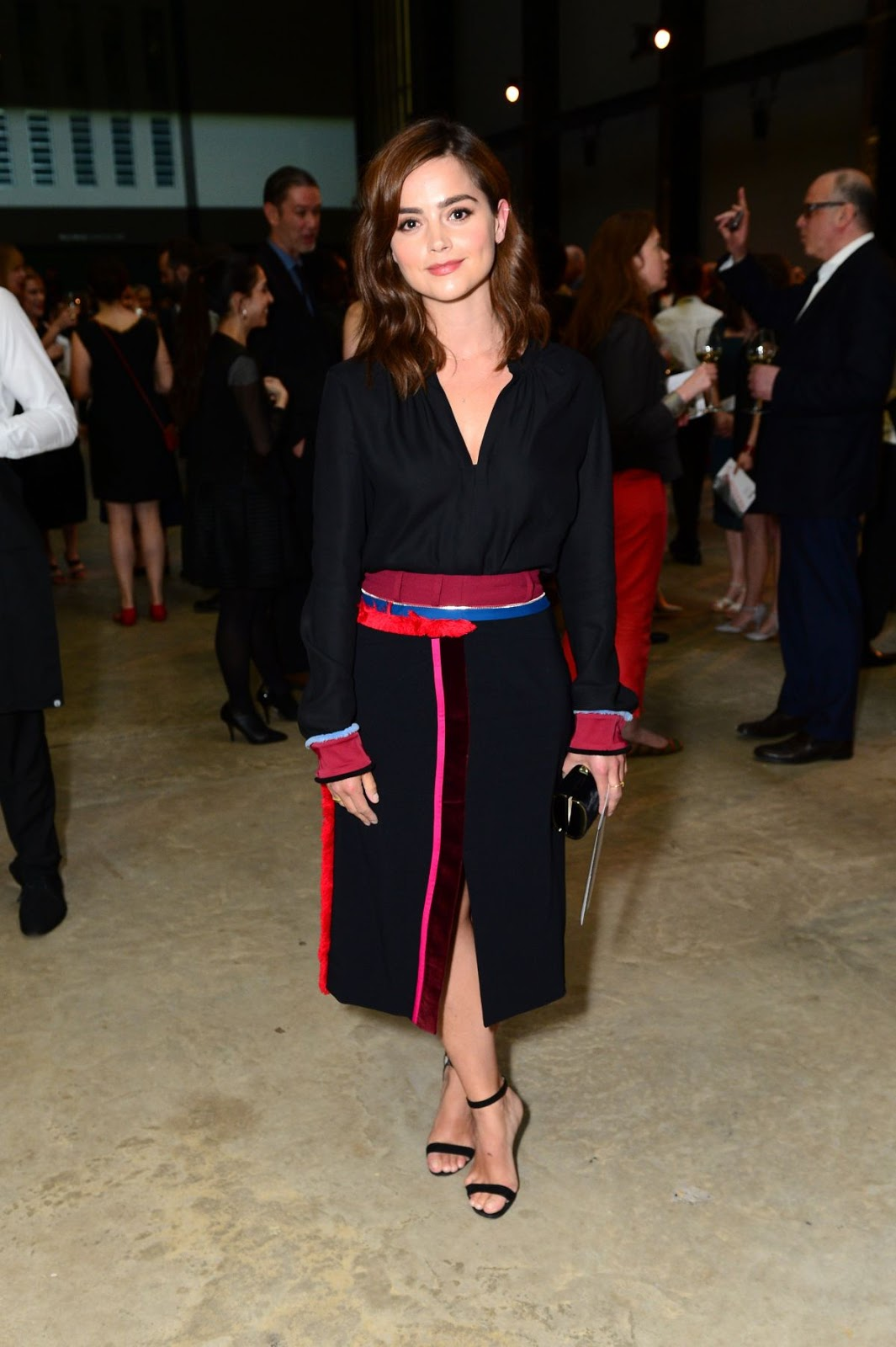 Jenna Coleman at Tate Modern Extension Opening Party In London