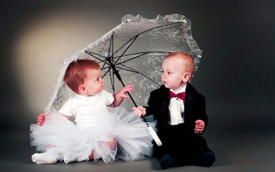 cute and sweet baby couples