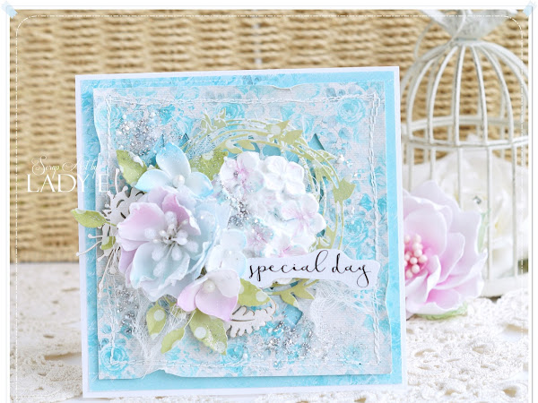 Birthday Card & Little Foamiran Flowers Video Tutorial