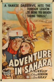 Adventure in Sahara (1938) ταινιες online seires oipeirates greek subs