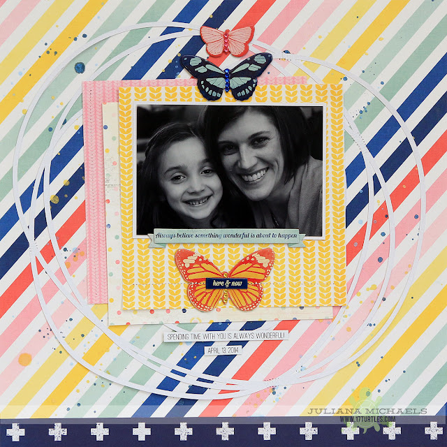 Always Believe Scrapbook Page by Juliana Micheals