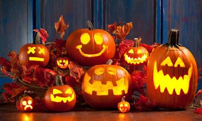Resultado de imagem para Rua outonal com halloween