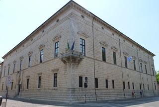El Palacio de los Diamantes de Ferrara.