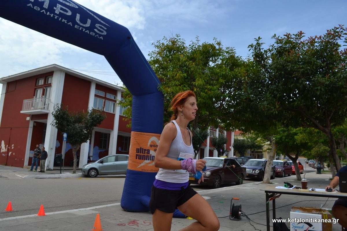 9η η Ανδριάνα Βασιλάτου στο Olumpus Marathon