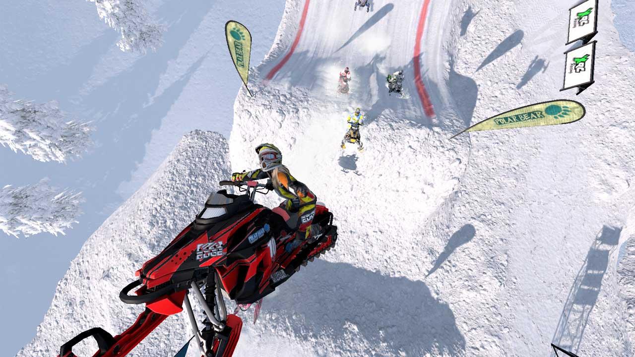 تحميل لعبة Snow Moto Racing Freedom برابط مباشر + تورنت