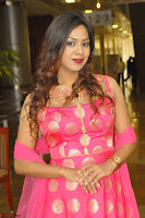 Sindhu Shivarama in Pink Ethnic Anarkali Dress 14.JPG
