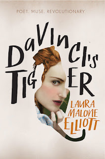 DaVinci's Tiger by Laura Malone Elliott book cover