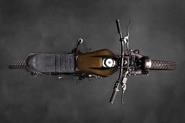 Atelier Medusa Honda NX 650 Dominator Scrambler