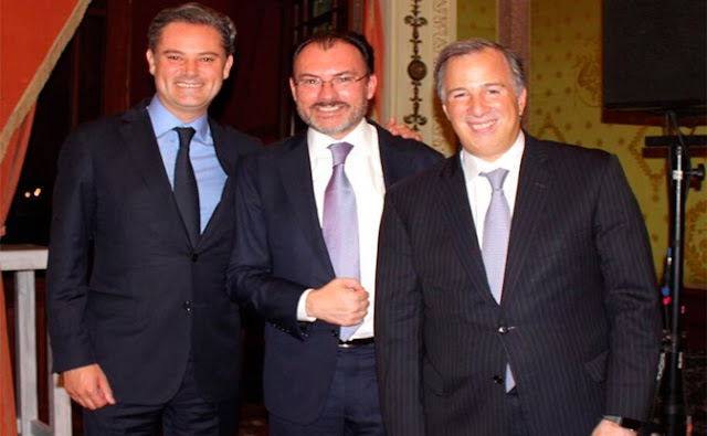 Videgaray, Meade, Nuño