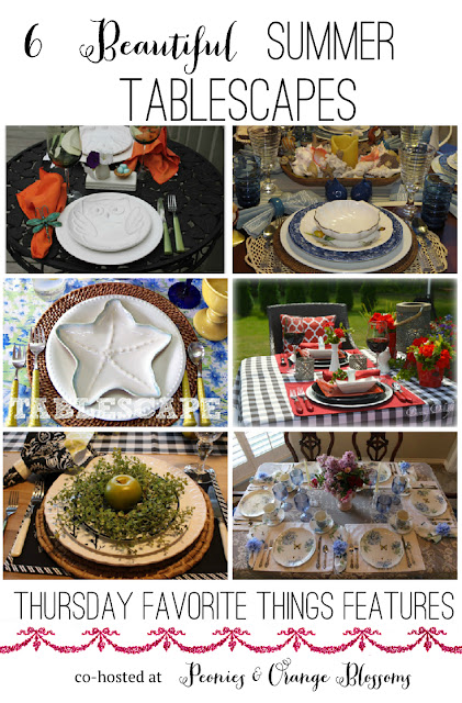 6 Beautiful Summer Tablescape Ideas