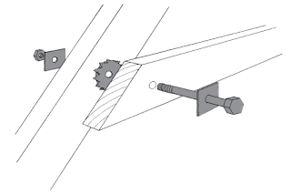 Toothed plate connector joint-roofconstruction-terminology.blogspot.com