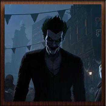 Batman Arkham Origins Joker Sombre - Avatar en HD