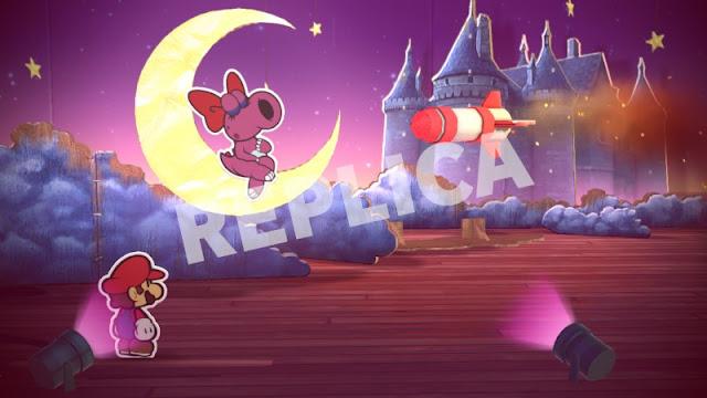 Paper Mario Color Splash Replica Balloons Ludwig Von Koopa boss battle fight Birdo missile fail Ludsub