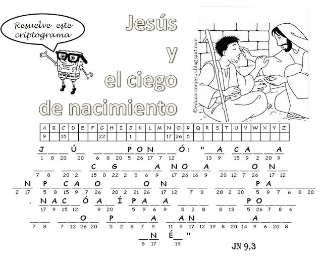 La Catequesis (El blog de Sandra): Recursos Catequesis: El ciego de ...
