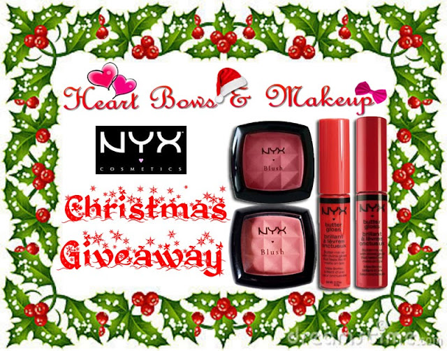 NYX Giveaway Christmas Giveaway Get Free Products India
