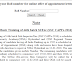 CAPF Basic Training and online offer of appointment letter (provisional)