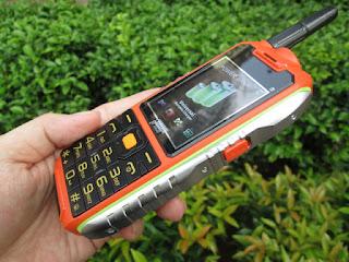 Spesifikasi Hape Antik Prince PC-398 Antena 3SIM Baterai 10000mAh