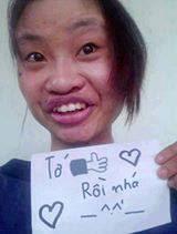 Hình cô gái xấu nhất Việt Nam