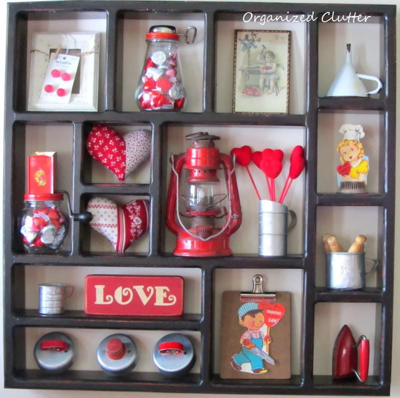A Valentine's Day Shadow Box