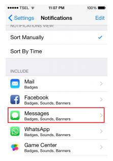 Cara Nonaktif Notifikasi Lock Screen untuk Aplikasi di iPhone / iPad