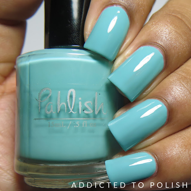 Pahlish Menthe Glaciale Swatches Patisserie de Pahlish