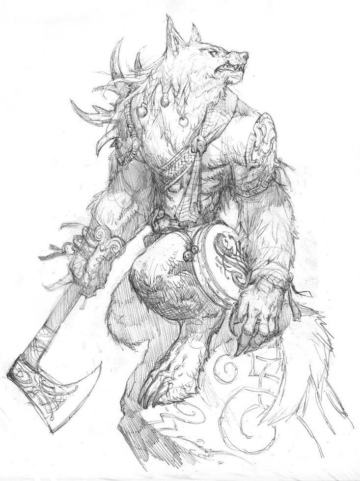 Prescott Draw-Blog: Werewolf Anniversary