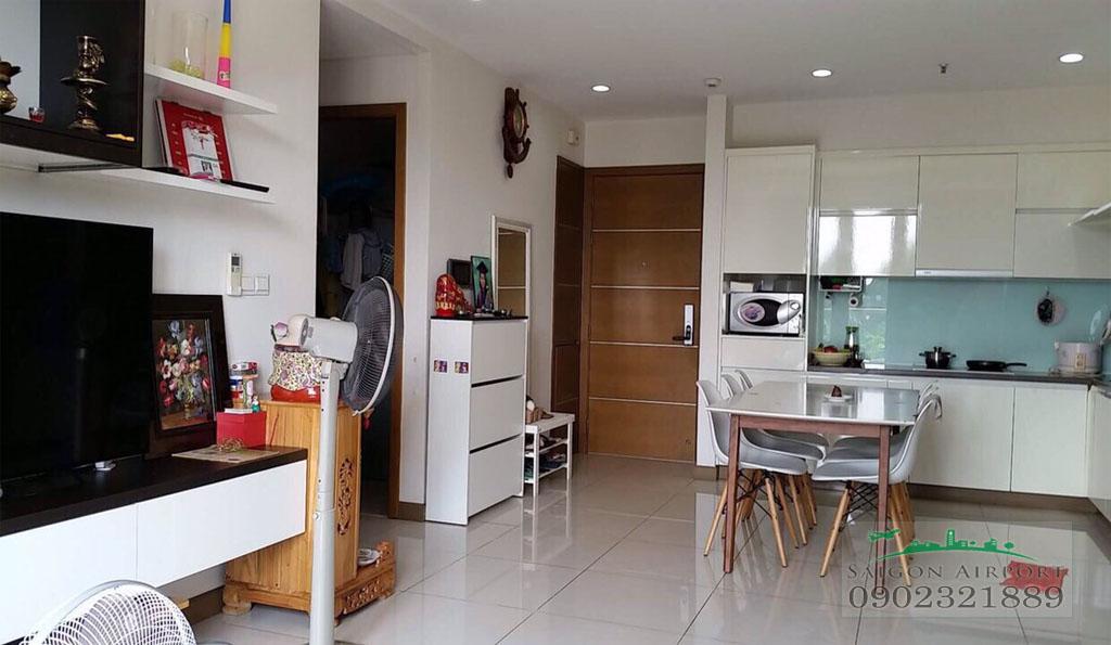 Saigon Airport Plaza cho thuê căn hộ 2PN tầng 5 có sẵn nội thất chỉ $900
