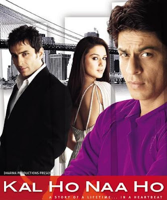 Poster Of Bollywood Movie Kal Ho Naa Ho (2003) 300MB Compressed Small Size Pc Movie Free Download worldfree4u.com