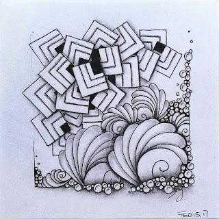 inspired by the tangles Flukes broken in tiles, Joki, Tipple