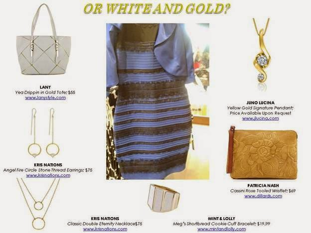 White & Gold Dress