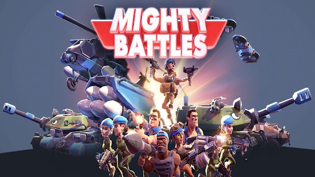 Mighty Battles apk download - Tựa game kết hợp giữa Beach Head và Clash Royale
