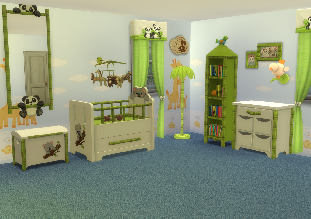 My Sims 4 Blog: TS3 Nursery Conversion Sets by EnureSims