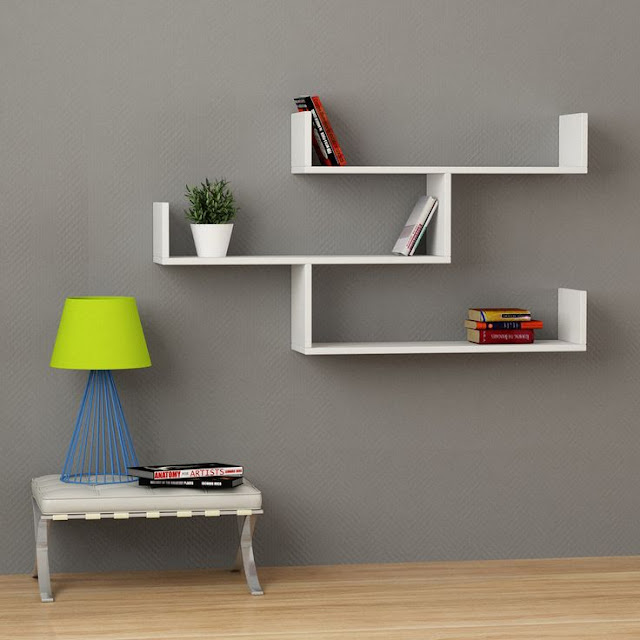 Design your wall with outstanding DIY wall shelves