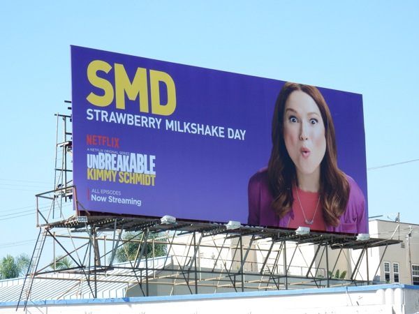 Unbreakable Kimmy Schmidt season 2 SMD billboard