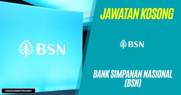 jawatan kosong BSN 2018